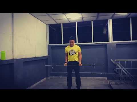 Guru Mann Bicep Curl Challenge | 100 Reps | 5 kg | Olympic Barbell | Shantanu Joshi