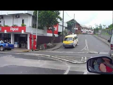 Juergen Schreiter in Vanuatu | Driving in Port Vila - Vanuatu Traffic | SMS Frankfurt