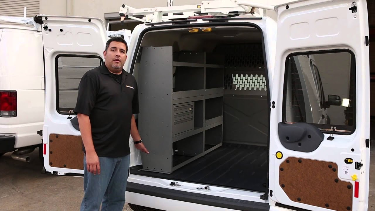 kargo master ford transit connect shelving storage system youtube rh youtube com ford transit connect rear shelves