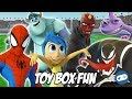Heroes VS Villains Disney Infinity Toy Box Fun Gameplay Part 3