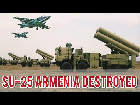 Azerbaijan Shoots Down Su 25 Armenia - military officer k1ll3d