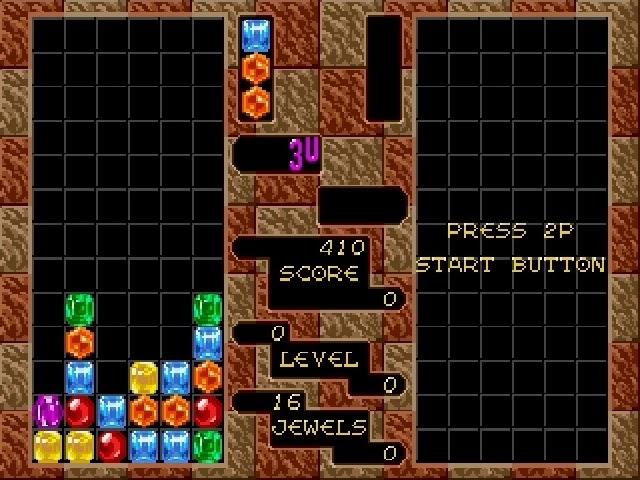 Jouez à Columns sur Sega Megadrive/Genesis grâce à nos bartops et consoles retrogaming