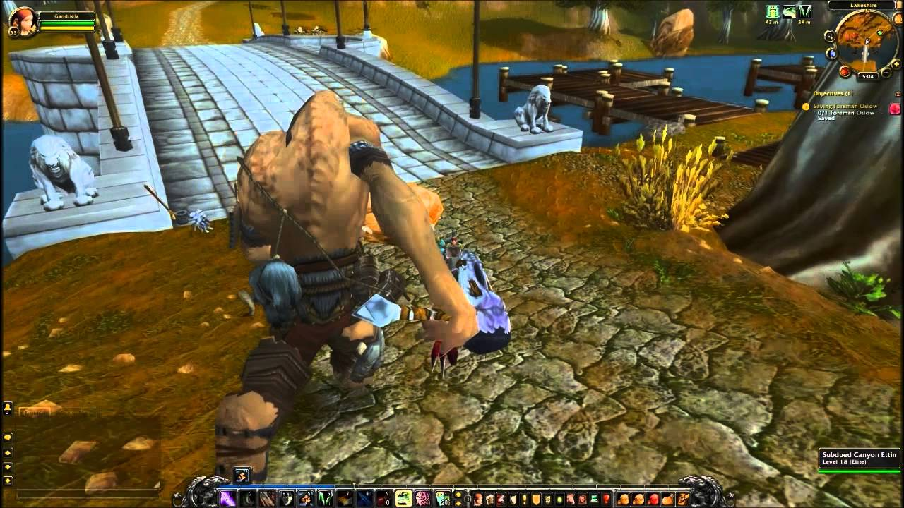 Saving Foreman Oslow Quest - World of Warcraft - YouTube