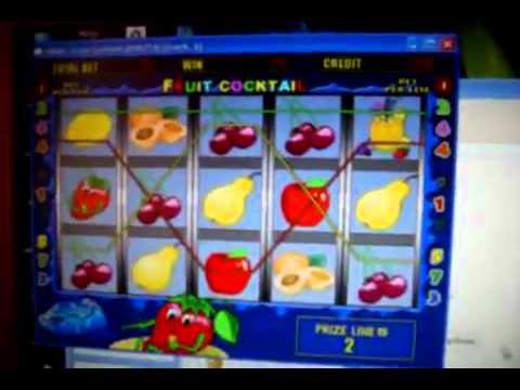 jocul cu capsiuni ca la aparate fruit cocktail
