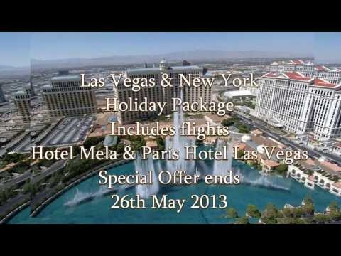 33% OFF Holiday Packages To Las Vegas And New York Offer Ends 26th May 2013