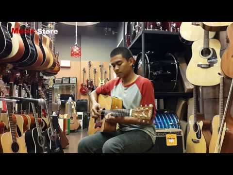 Music Store - Review Acoustic Guitar Saga D280C รีวิวกีต้าร์โปร่ง