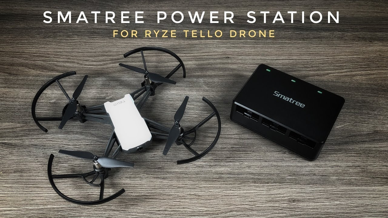 Smatree Power Station for Ryze Tello Drone
