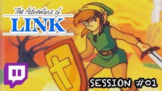 Zelda II: The Adventure of Link (Famicom Ver.) | Session #01