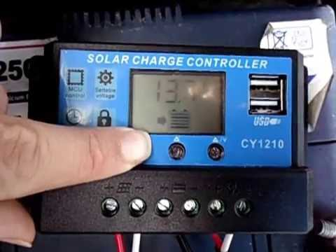 How To Change Settings On Ebay Aliexpress Solar Panel