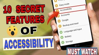 10 SECRET FEATURES OF ACCESSIBILITY || TOP 10 AMAZING FEATUR...