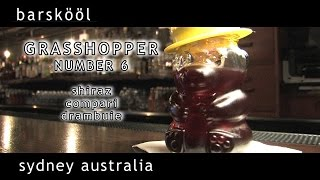 how to make a shiraz negroni - sydney australia  grasshopper - barskool cocktail recipe