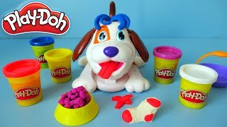 Play Doh Puppies Toy Unboxing and Review
