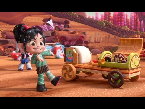 "Wreck-It Ralph: ""Likkity Split"" Clip"