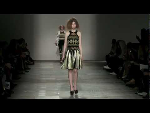 Fashion East : James Long AW12