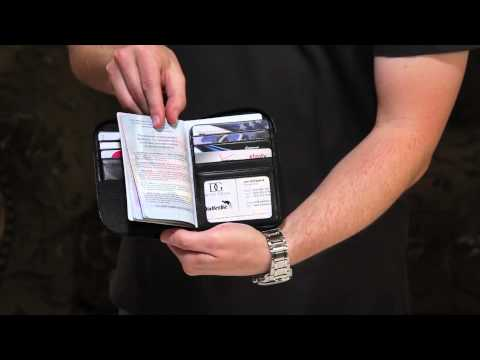 WalletBe Leather Passport Wallets For Men And Women