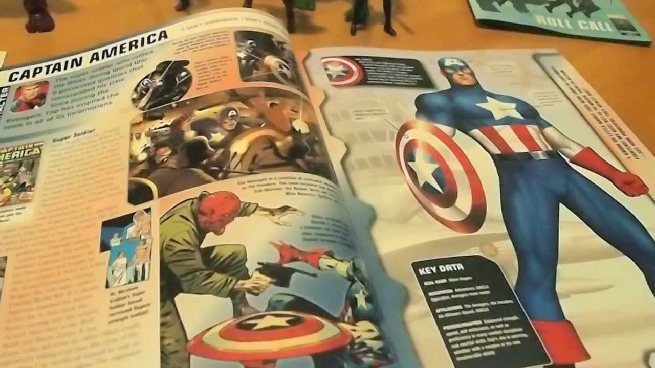 91960492fe6 Avengers Ultimate Guide April 2012 , Roll Call, and Toys