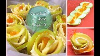 """""""Ciambella"""" alle Mele Sfogliata - Ricetta Facile e Veloce, con solo 4 ingredienti- Tutti a Tavola"""