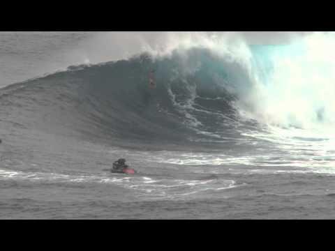 Bodyboarder @ Jaws Peahi Maui