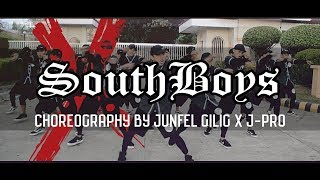 SouthBoys - Ex Battalion DANCE CHALLENGE BY JUNFEL GILIG X J-PRO