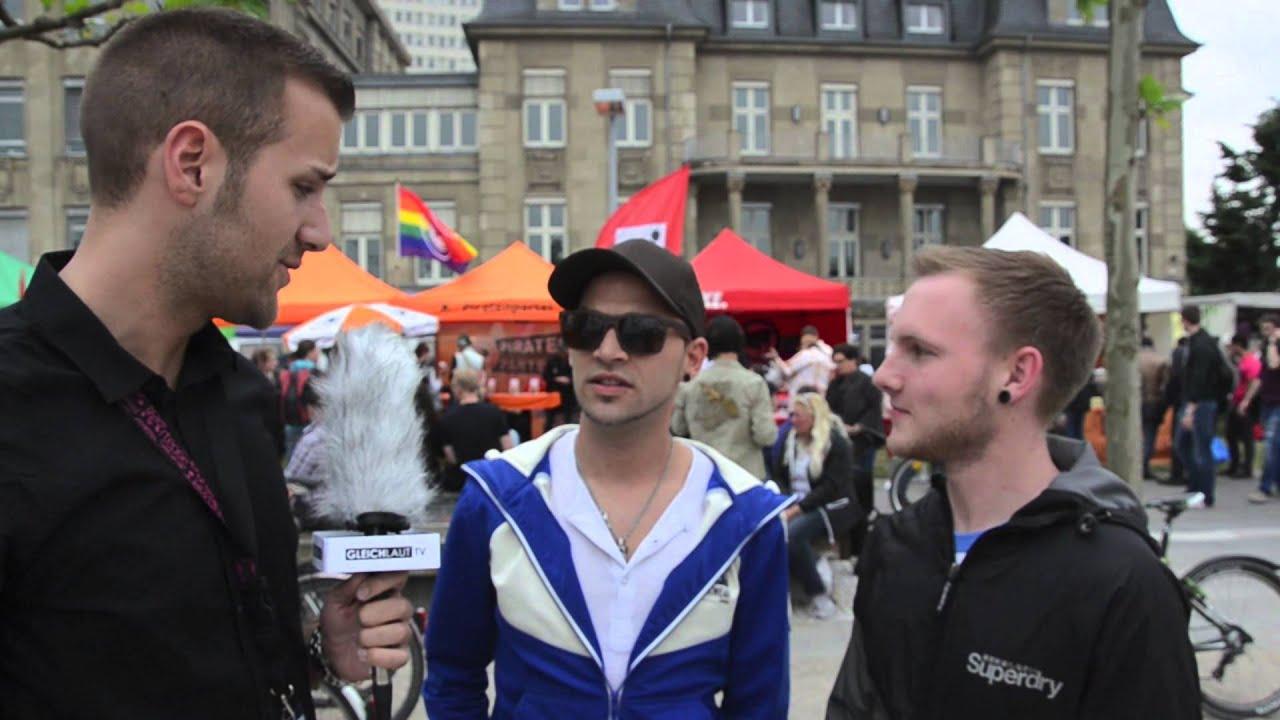 QueerGefragt - wie lebt es sich schwul in Düsseldorf - YouTube