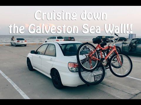 Cruising Down the Galveston Sea Wall