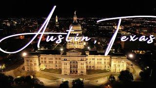 Downtown Austin, Texas | 4K Drone Footage