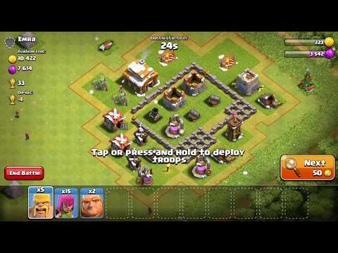 Clash-A-Rama! The Series: Ballad of the   Barbarian   Clash of Clans   Freeze Trap