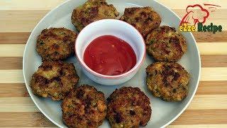 চিকেন টিকিয়া কাবাব রেসিপি | Chicken Keema Kabab Recipe |  Bangladeshi Style Tikki Kabab Recipe
