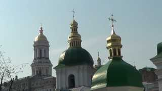 Welcome to UKRAINE: Kiev Pechersk Lavra Monastery(VIDEO = http://youtu.be/XFkIQHo9VkM UKRAINE, Kiev: Kiev Pechersk Lavra Monastery, on the right bank of the river Dnieper, in Kiev, the capital of UKRAINE., 2014-02-02T11:50:06.000Z)