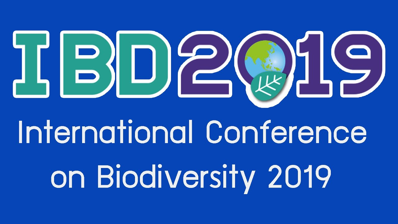 International Conference on Biodiversity 2019 : IBD2019