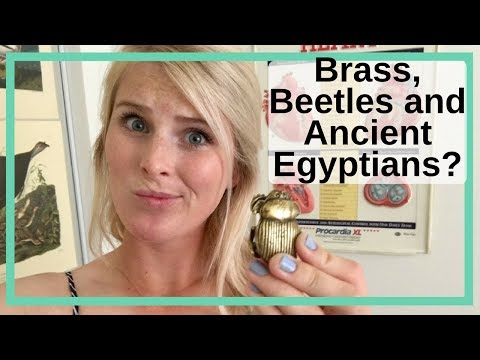 Adventures With Science: Brass, Beetles And Ancient Egyptians