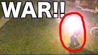 FIREWORK WAR!!! Roman Candle, HEAD SHOTS, & Epic Battles!