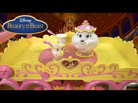 Disney Princess Belle Musical Tea Party Cart from Jakks Pacific