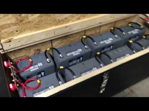 Aims 6000 watt 48v inverter and battery bank (Whole home uninterrupted backup) – 1.5 of 3 – UPDATE