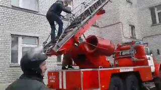 """Студентов Эконома освободили от занятий из-за """"пожара"""""""