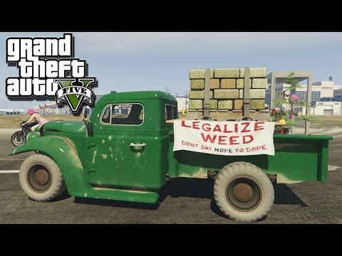 Just Say No! - Grand Theft Auto V Movie (Lets Play GTA 5 Online Gameplay / Rockstar Editor ) PC