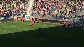 Caen-Lyon : 3-0, ambiance à d'Ornano