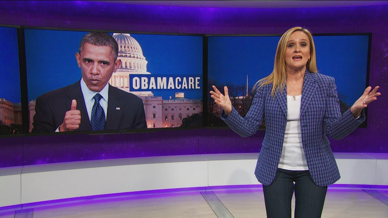 Samantha Bee - Republicans Sabotaging Healthcare