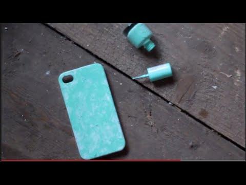 Как сделать чехол для айфона 5 своими руками видео