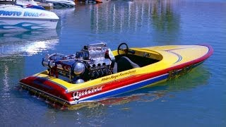 Eliminator K Boat At The River
