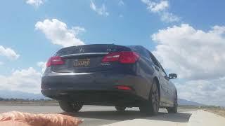Acura RLX Honda Legend Modified OEM Exhaust