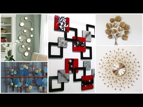 Amazing Wall Art Designs/Mirror Wall Art Pieces/Metallic wall hanging Designs for Home Decor