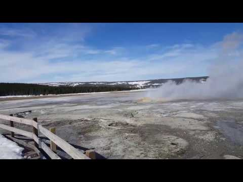 Yellowstone in March 2017