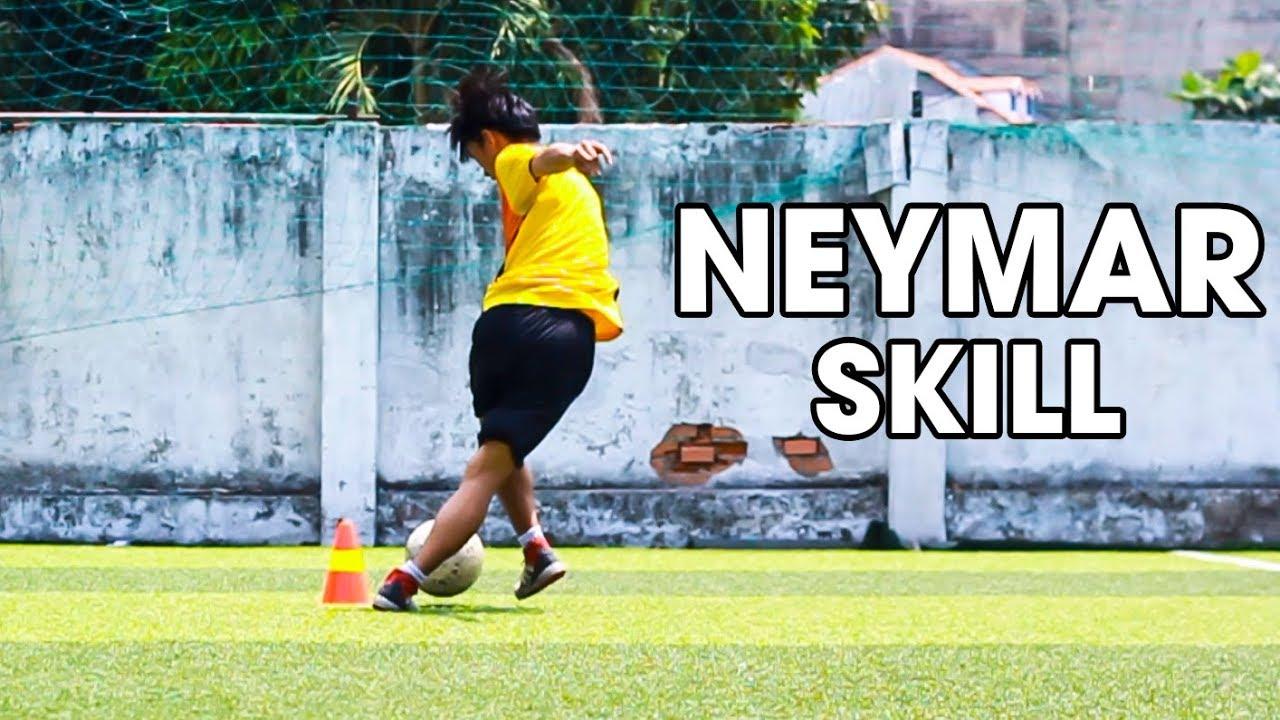 Tập luyện 5 tuyệt chiêu bóng đá cực hay của Neymar JR