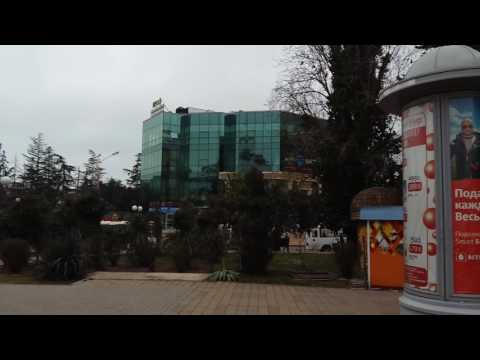 Ж/д вокзал в Сочи.