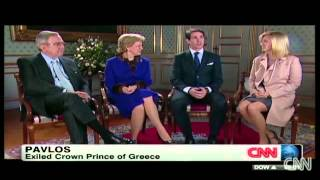KING AND QUEEN OF GREECE TALK ABOUT ROYALTY IN EUROPE!