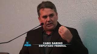 Cabo Sabino em pronunciamento na Câmara Quixeré 18 08 2017