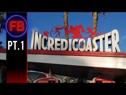 Pixar Pier Grand Opening!! Witness the madness   06/23/18 pt 1 (4k)