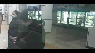 서울교통공사 7호선 부평구청행 이수역 정차