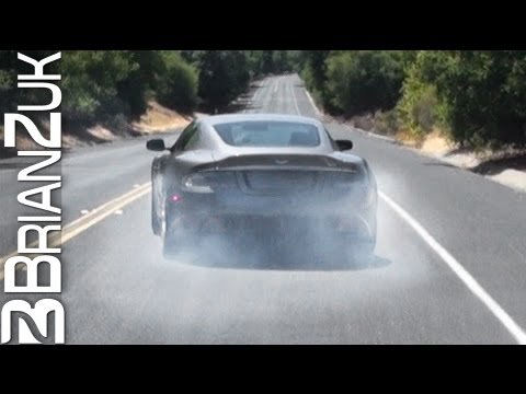 Aston Martin DBS Burnout